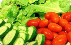 Benefits of organic foods and vegetables