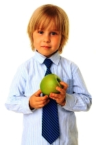Picture representing healthy eating for children